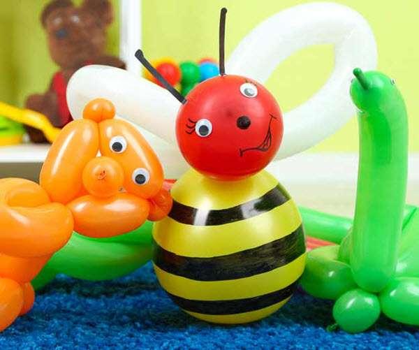 Ballonkünstler für Ballonfiguren zum Kindergeburtstag