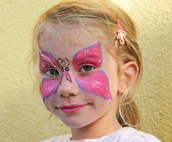 Kinderschminken Anbieter für Kindergeburtstag