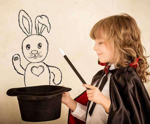 Kinderzauberer zum Kindergeburtstag