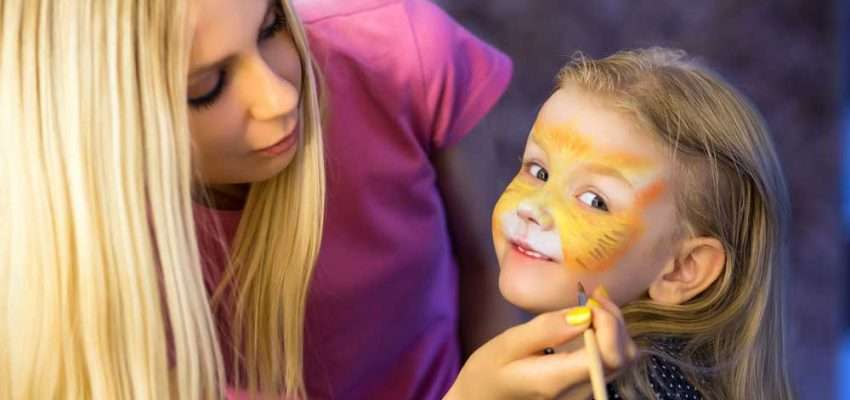 Professionelle Kinderschminker finden